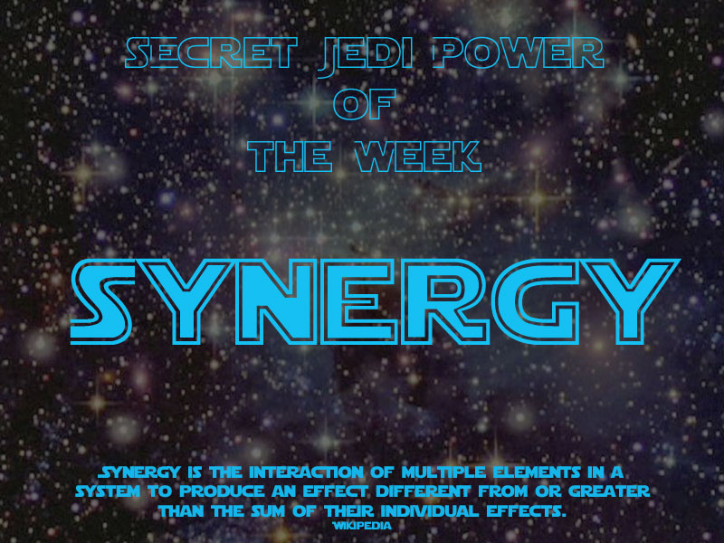 Secret Jedi Power of the week