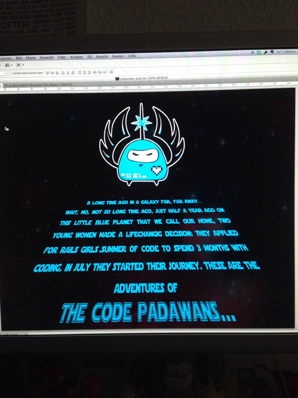 A Star Wars opening crawl